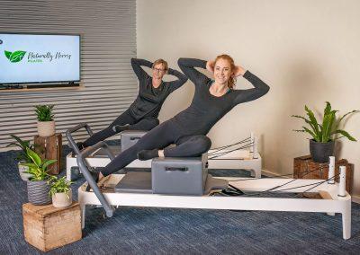 Reformer Pilates Oblique Exercise