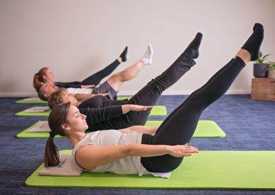 Group Mat Pilates Class