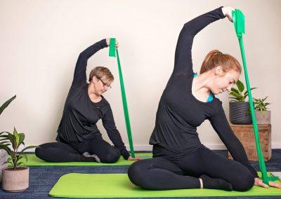 Pilates Theraband Exercise